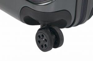 4 Resistentes Ruedas Dobles que giran 360º.