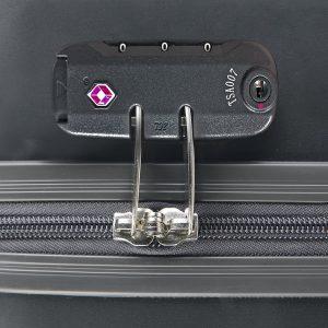 Rombo indentificativo de los candados o cierres de seguridad TSA.