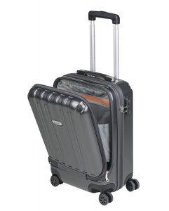 Maleta Cabina con Bolsillo para Ordenador Portátil Tipo Trolley ABS Sulema