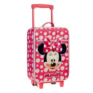 Equipaje de Mano Infantil Disney Minnie Flowers