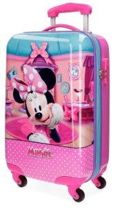 Maleta Infantil Trolley Minnie Smile Disney Rosa