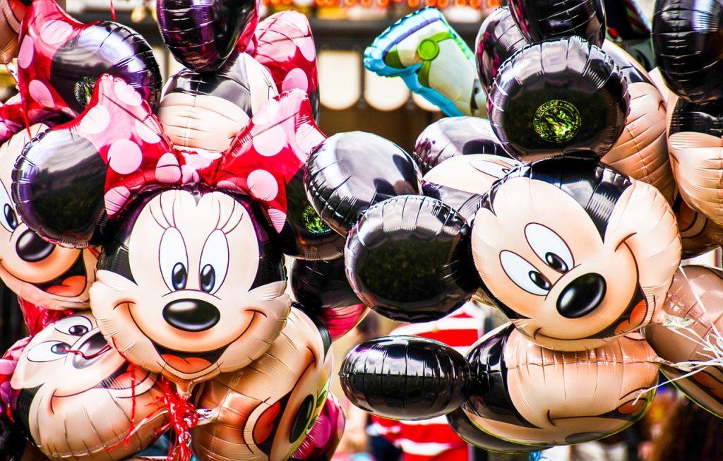 Personajes Disney Minnie y Mickey