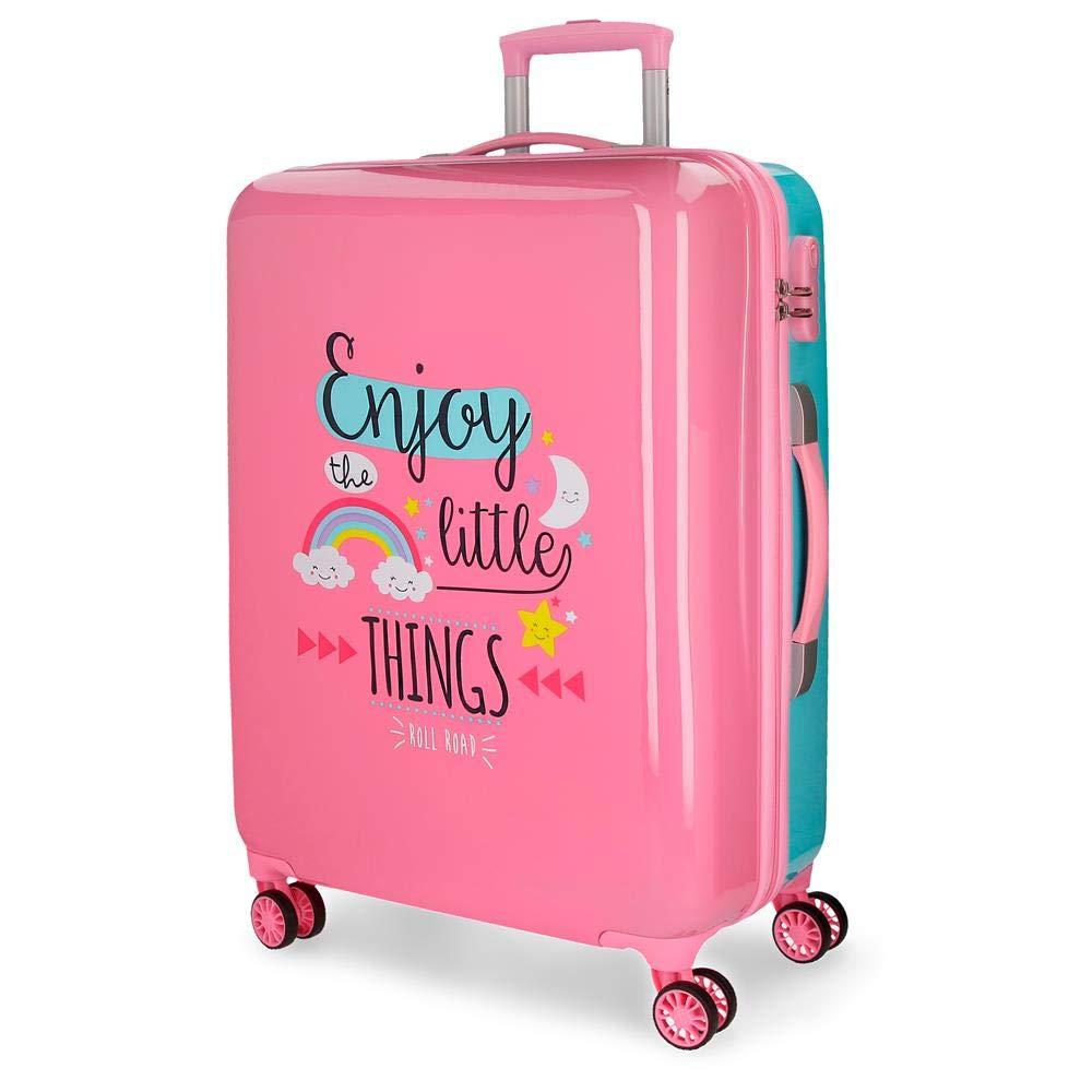 Las maletas de viaje y equipaje de la Marca Roll Road es la elección ideal si te gustan las maletas elegantes, alegres y coloridas.