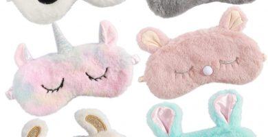 6 piezas antifaz infantil para dormir animales.