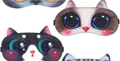 Antifaz 4 piezas infantiles de animales