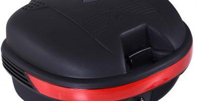 Baúl Moto Universal 30L + Llaves y Accesorios Equipaje.