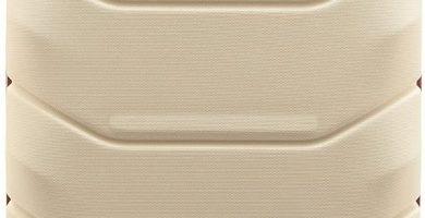 WITTCHEN Equipaje de mano, maleta cabina color blanco 42x32x25cm de 25 litros pequeña XS
