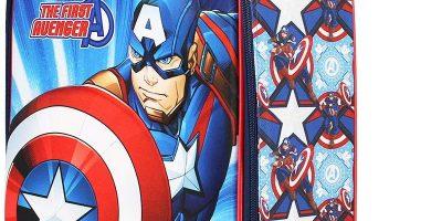 Karactermania Capitán América First-Maleta Trolley Soft 3D, Multicolor, Un tamaño