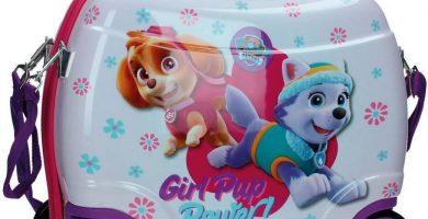 La Patrulla Canina 41x34x20 Girl Equipaje Infantil, 25 litros, Color Rosa