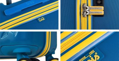Lois - Maleta de Viaje Grande 4 Ruedas Trolley 75 cm Rígida de ABS. Dura Práctica Cómoda Ligera y Bonita Marca de Confianza y Estilo. Candado TSA.