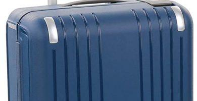 Roncato Nexus Maleta de Cabina rigida Azul 4 Ruedas con candado TSA 55 x 40 x 20 cm Capacidad 38 l