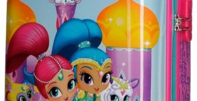 Shimmer and Shine 2030361 Wish Equipaje Infantil, 50 cm, 26 litros,