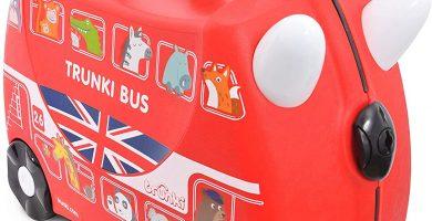 Trunki Maleta correpasillos y equipaje de mano infantil: Autobús Boris