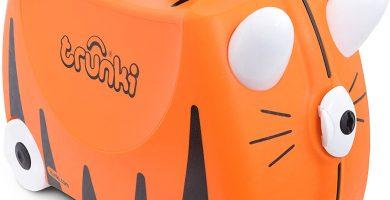 Trunki Maleta correpasillos y equipaje de mano infantil: Tigre Tipu