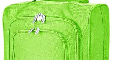 Equipaje Marca 5 Cities IATA. Maleta con llantas, equipaje de mano. 54x35x19 cm, 42 litros. Varios Colores