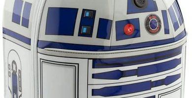 Maleta de dos Ruedas Disney Star Wars Store Trolley Astrodroide Droide Robot R2D2 R2-D2 Original 48 x 29 x 24 cm.
