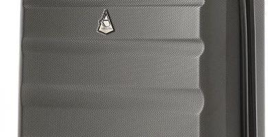 Marca Aerolite ABS Maleta Equipaje de mano cabina rígida ligera con 4 ruedas, 35x20x55cm