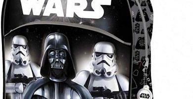 Mochila Infantil 3D Star Wars Darth Vader Y STORMTROPERS de 32x27x10 cm.